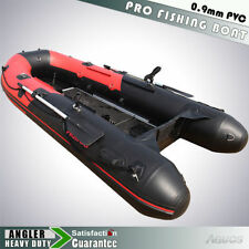 3m Inflatable Boat Inflatable Rafting Fishing Dinghy Tender Pontoon Boat