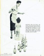 PUBLICITE ADVERTISING 016  1955   Perrier eau minèrale gazeuse
