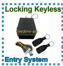 Universal Car Kit Remote Control Central Door Lock Locking Keyless Entry System