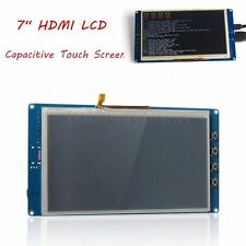 "7"" HDMI LCD 800×480 Capacitive Touch Screen LCD for Raspberry Pi 2 Banana Pi Bo"