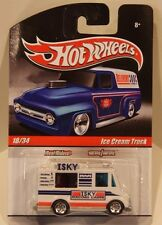 Hot Wheels 2010 Slick Rides Ice Cream Truck Real Riders/Metal ISKY Racing Cams