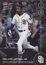 2016 Topps NOW 205 Melvin Upton Jr Padres 3rd Walk Off HR ONLY 292 Made RARE SP