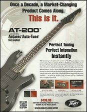 The Peavey AT-200 Antares Auto-Tune electric guitar ad 8 x 11 advertisement