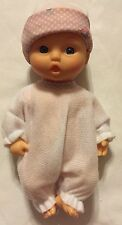 Baby Doll Soft Body White Outfit Hat Onesie