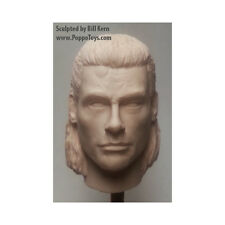 Custom 1/6 Scale Jean-Claude Van Damme Head - HARD TARGET