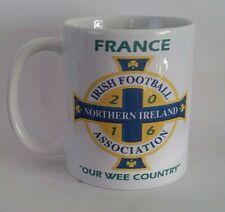 Irlanda del Norte/Francia 2016 Taza IFA fútbol Ulster regalo de cumpleaños de euros.