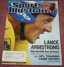 SPORTS ILLUSTRATED - 08/04/03-LANCE ARMSTRONG WINS 5TH TOUR DE FRANCE