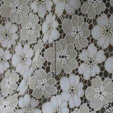 """Broderie Anglaise cotton eyelet lace Fabric 44""""(110cm)-By the Yard sh31 laceking"""