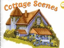 Cottage Scenes Machine Embroidery CD-Rom  Baby Lock Brother Pes