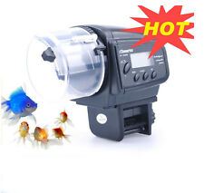 Lychee Aquarium Automatic Fish Food Tank Feeder Timer Auto Feeder for Aquarium