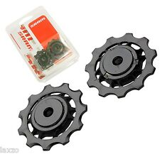 Sram Mountain Bike Jockey Wheel Set Black for X9 & X7 Rear Derailleurs 2010-2011