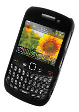 Black Hybrid Shell Hard Case for BlackBerry 8520 Curve