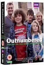 OUTNUMBERED COMPLETE SERIES 1, 2 & 3  PLUS XMAS SPECIAL