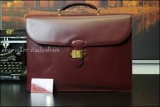 CARTIER Luxury France Paris Collectible Leather Hard Case Briefcase Bag Mens