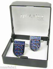 NOVELTY ENGLAND FOOTBALL BADGE CUFFLINKS CUFF LINKS MENS SHIRT XMAS BNIB NEW UK