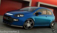 Fiat Grande Punto Evo - Sottoparaurti split Anteriore Tuning maxton design ABS