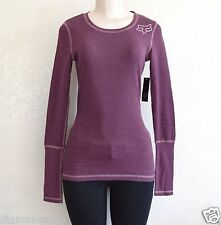 $65 (2 pieces, different style & color) Fox Racing Women's Thermal Shirts sz L