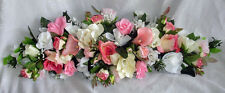 "Gorgeous PINK SWAG 30"" Centerpieces Silk Wedding Flowers Arch Decor Callas Roses"