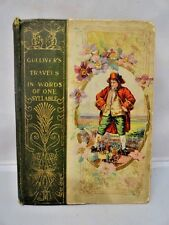 Gulliver's Travels Exploration & Travel 1899 Illustrated 1st Edition Lilliput