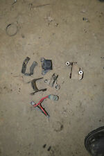 C1-6 2000 LOT OF BRACKETS PARTS  HONDA TRX450 TRX 450 FOREMAN ATV FREE SHIP