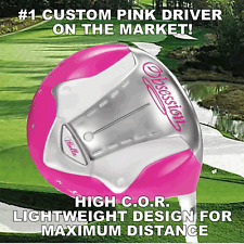 #1 iBELLA COOL PINK DRIVER GOLF CLUBS LADY PETITE WOMENS LADIES DRIVER CLUB GIFT
