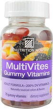Multi Vites Gummy Vitamins, Nutrition Now, 70 gummies