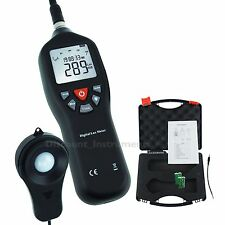 Tragbar Digital Licht Lux Meter Instrument Auto Ranging Werkzeug 0 bis 200.000