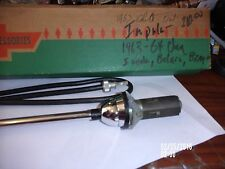 1963-64 Chevrolet Radio antenna kit NOS Impala,Belair, Big car. NIB