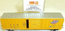 Cicago North W 50 Rib Side Box Car Single Door MTL 025 00 670 N 1:160 OVP HU3  å