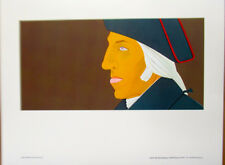 Alex Katz-Portrait of George Washington Colonial Patriot 1976 AMD 17x14