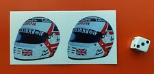 Nigel Mansell  Helmet F1 Sticker Formula 1  Williams Renault 50mm x 50mm