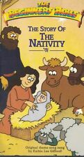 Beginner's Bible: The Story of the Nativity by Kathie Lee Gifford VHS Animated