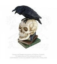 ALCHEMY GOTHIC - THE VAULT - POE'S RAVEN - RESIN RAVEN GOTH CROW STEAMPUNK