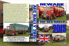3109. AEC Society Rally. UK. Truck, Bus. May 2015. A n overcast day at Newark co