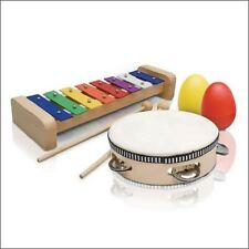 ASHTON PERCUSSION SET PSET2 MUSICAL INSTRUMENT PACK TAMBOURINE XYLOPHONE SHAKERS