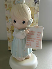 PRECIOUS MOMENT FIGURINE -  HAVE YOU ANY ROOM FOR JESUS - 261130 -  RETIRED 2001