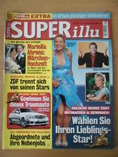 SUPER ILLU 29 - 12.7. 2007 Goldene Henne-Wahl Mariella Ahrens Märchenhochzeit