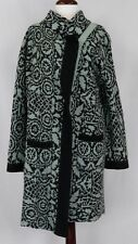 DRIES VAN NOTEN WOOL BLEND LONG CARDIGAN/COAT MULTICOLOR  Sz M