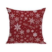 Christmas Super Soft Square Throw Pillow Case Decorative Cushion Pillow Cover A