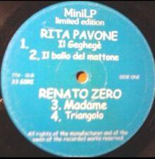 """RENATO ZERO - COPIA PROMOZIONALE SOLO DJs - MADAME - VINILE 12"""" - RARO !!!"""