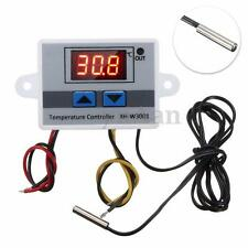 220V Digital LED Temperatura Controlador 10A Termostato Control w/ Switch Sonda