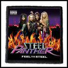 STEEL PANTHER --- Patch / Motley Crue L.A. Guns Twisted Sister Def Leppard