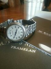 Armand Nicolet AN9430A Arc Royal Automatic Day Date Watch with Links/Box/Manual