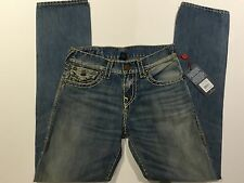 TRUE RELIGION RICKY SUPER-T MEN JEAN VINTAGE GLORY MDA859N20A NWT 36W $369 USA