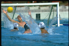 370048 Waterpolo Action Soviet Vs USA A4 Photo Print