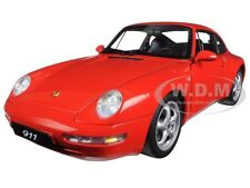 1995 PORSCHE CARRERA 911 993 RED 1:18 DIECAST MODEL BY AUTOART 78132