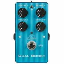 Suhr Dual Boost Buffer Line Driver True Bypass Guitar Effects FX Stompbox Pedal