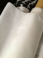 By Yds 12M/M Natural White Habutai Material Lining Mulberry Silk Fabric Habotai