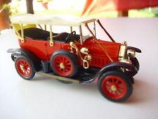 1:43 Rio Fiat Modell 0 in rot- Modell no Prospekt.