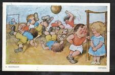 SPORT CALCIO HOGFELDT Offside Soccer PC Circa 1950 Comic